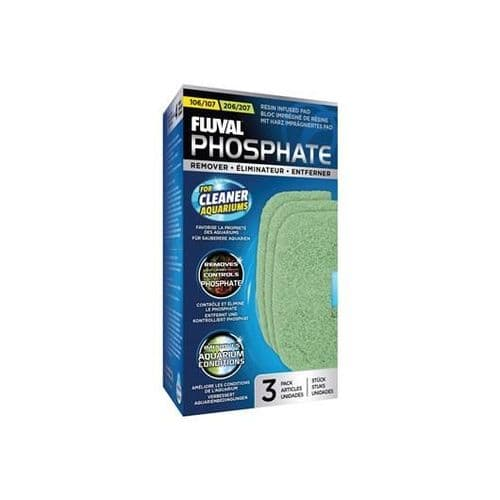 Fluval 106/206 and 107/207 Phosphate Remover - 3 pack